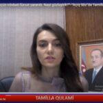 """""""Qarabağı azad etmək üçün növbəti fürsət yaranıb. Nəyi gözləyirik?"""" -Tamilla Qulami"""