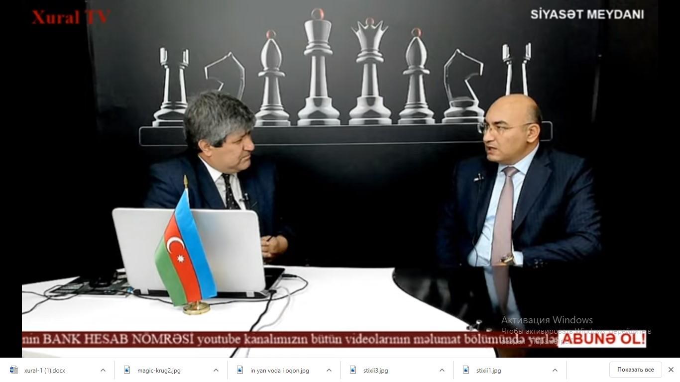 Gələcəyə şikəst Azərbaycan verə bilmərəm - İqbal Ağazadə
