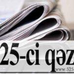 """Ümid Partiyası """"525-ci qəzet""""i təbrik etdi"""
