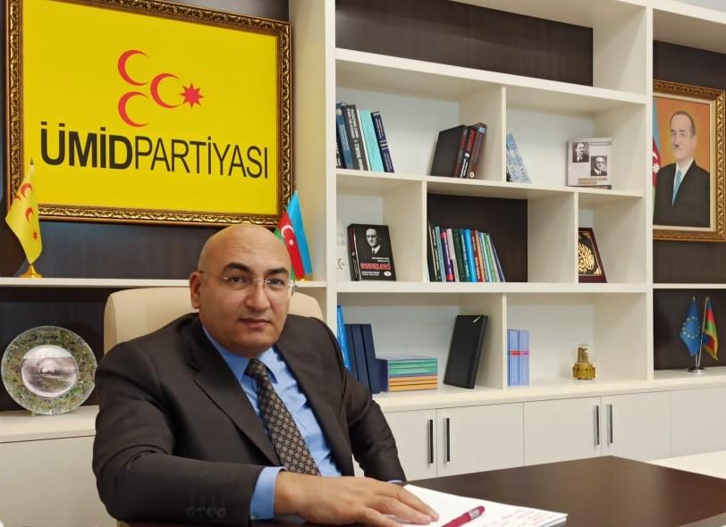 Ümid Partiyasının sədri İqbal Ağazadə özünə daha iki müavin təyin etdi