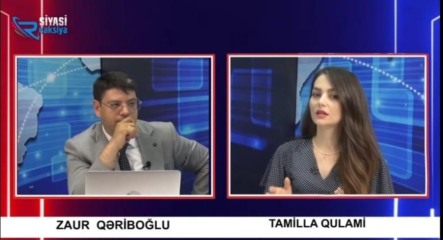 Azərbaycanla Ermənistan arasında təcili Sülh Müqaviləsi imzalanmasa, Rusiya bölgədə güclənəcək - TAMİLLA QULAMİ