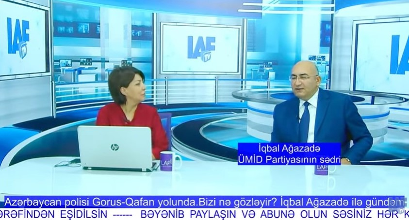Azərbaycan polisi Gorus-Qafan yolunda - İQBAL AĞAZADƏ şərh edir