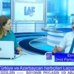 Türkiyə və Azərbaycan hərbçiləri Laçında - ELMAN ABBASOV şərh edir