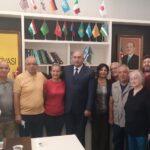 İqbal Ağazadə Türkiyəli şair-yazarlarla görüşdü